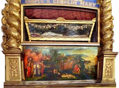 Il corpo di Skt Gerold von Koln in Santa maria Maddalena a Cremona